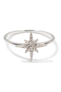 Серебряное кольцо со звездой Exclaim (фото)