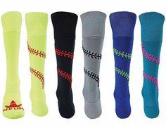 Playball Softball Socks - Knee High Softball Socks Shop awesome-sports.com