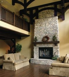amazing fireplaces photos | Beautiful Stone Fireplace in your Home: Amazing Stone Fireplace ...