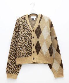 FACETASM e-store Knit Fashion, Knitting Designs, Knit Cardigan, Knitwear, Boss, Men Sweater, Jumpers, Lady, Cardigans