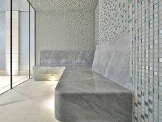 Steam Room Shower, Steam Shower Cabin, Sauna Steam Room, Pool Bathroom, Backyard Pool Landscaping, Home Spa, Sauna Ideas, Interior Design, House