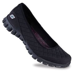 Skechers EZ Flex 2 Spruced Up Women's Slip-On Skimmer Shoes