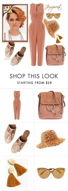 """""""One and Done: Jumpsuits"""" by ragnh-mjos ❤ liked on Polyvore featuring Topshop, Chloé, Taschka, Helen Kaminski, Madewell, Dolce&Gabbana, outfit and jumpsuits"""