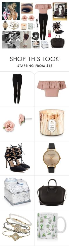 """""""Happy Birthday Mom 💕💕 You miss you... 💔"""" by louisericoul ❤ liked on Polyvore featuring Topshop, Miss Selfridge, 1928, GET LOST, CHICCO, Givenchy and DENY Designs"""