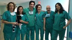 La Unidad de Reproducción Asistida de Valdecilla realizó ayer una intervención pionera en la red sanitaria pública de España: la eliminación de un mioma