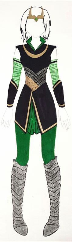 My own design for a female version of Loki