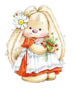 Baby Animals Clipart Easter Bunny Ideas For 2019 – Ionela Costea – Baby Anim… – Autolycus Wayman - Baby Animals Illustration Mignonne, Cute Illustration, Plant Illustration, Cute Images, Cute Pictures, Bunny Images, Beautiful Pictures, Cartoon Mignon, Baby Cards