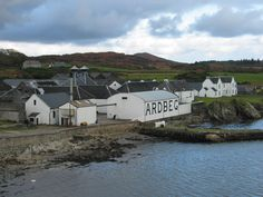 Ardbeg Distillery. One of the many Distilleries you will visit on our Islay Whisky Tour.
