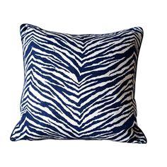 Fashion Zebra Stripes Linen Pillow Cushion Cover