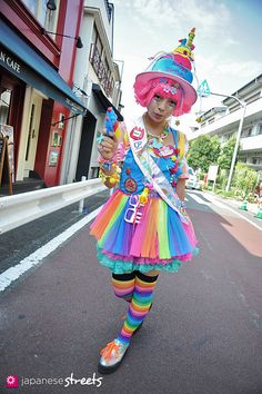- Japanese street fashion in Harajuku, Tokyo Japanese Streets, Japanese Street Fashion, Tokyo Fashion, Harajuku Fashion, Kawaii Fashion, Lolita Fashion, India Fashion, Rainbow Fashion, Colorful Fashion