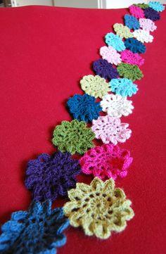 japanese flower scarf