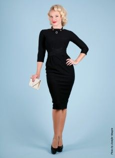 Vickie Black | Bettie Page Clothing - this dress, i need.
