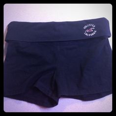 Hollister Yoga Shorts Size Small. Yoga Hollister shorts. Worn a few times but Great condition. Trades or best offers welcomed! Hollister Shorts