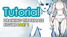 How to draw the female figure PART 1 //TO WATCH