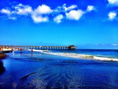 Tybee Island Pier, South Beach, near Savannah