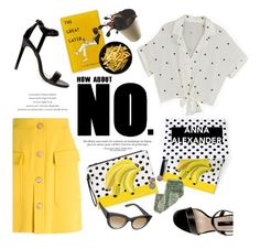 """""""How about No?"""" by helenevlacho ❤ liked on Polyvore"""