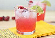 Skinny Raspberry Margaritas - Eat. Drink. Love.
