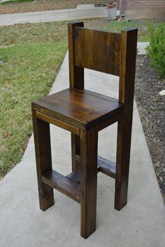 Rustic Counter Stool by AppleCreekFurniture on Etsy, $225.00