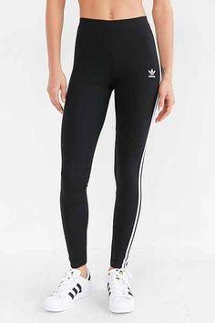 $35 adidas Originals 3 Stripes Legging - Urban Outfitters