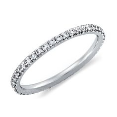 Pave Diamond Eternity Ring in...     $1,505.00
