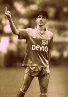 Éric Cantona. Genius. Maverick. Complex. And great fun to watch. www.goalhangers.co.uk