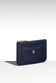 Chanel zipped pouch