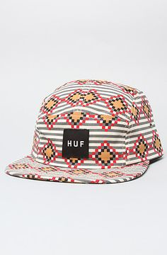 41c4f8c877d The Native Duck Volley Cap in All Over Print by HUF