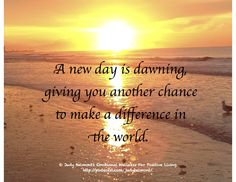 Make a difference today!