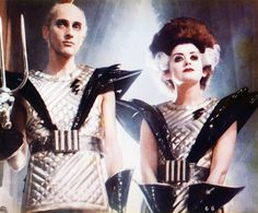Riff Rafff and Magenta (Richard O'Brien and Patricia Quinn) The Rocky Horror Picture Show