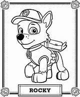 Rocky Coloring Pack from The PAW Patrol | Coloring Pages