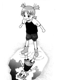 #Yotsuba&! A cute and heartwarming read about her mindless adventures.