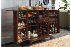 American Drew 912-589 - Tribecca Flip-Top Bar