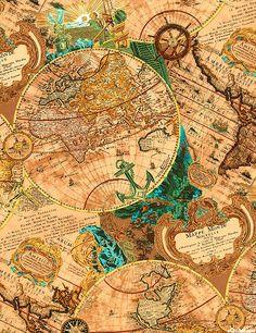 Nautical art frigate antique europe map print poster vintage fond background papiers paper scrap printable http renaissance menpaper scrapsvintage publicscrutiny Gallery