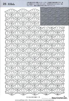 Free crochet pattern pattern is for a sweater but can use the general stitch for other projects salvabrani – Artofit Crochet diagram only. This Pin was discovered by Sch Love Crochet, Diy Crochet, Crochet Baby, Crochet Stitches Chart, Crochet Motifs, Filet Crochet, Hexagon Crochet Pattern, Crochet Amigurumi