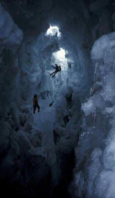 climbing the gap in between glaciers, Karakoram Pakistan