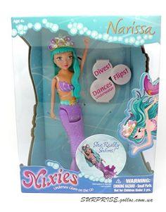 Кукла-русалка Narissa (Nixies) (плавает и танцует в воде)
