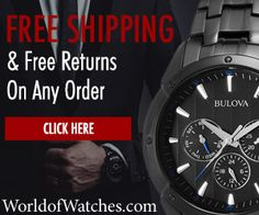 World of Watches -- until December 31, 2015