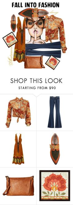 """Fall into Fashion"" by lisasotrue ❤ liked on Polyvore featuring dVb Victoria Beckham, Elliott Lucca and vintage"