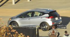 Spied: 2017 Chevrolet Bolt caught undisguised