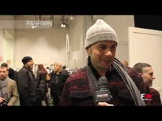 """ICEBERG"" Backstage Autumn Winter 2014 2015 Menswear Milan HD by Fashion Channel"