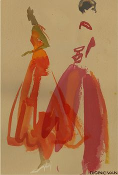Fashion Illustration I Bil Donovan