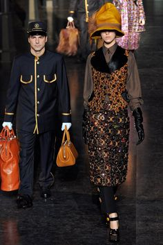Louis Vuitton Fall 2012 Ready-to-Wear Fashion Show - Josefien Rodermans