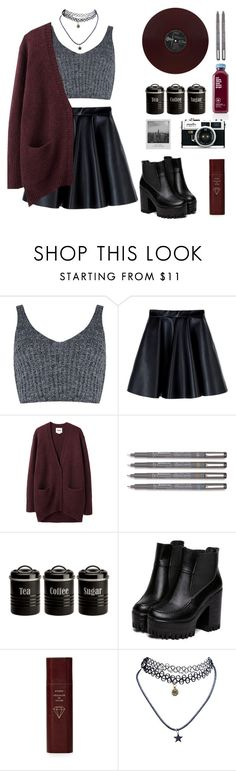 """""""S"""" by jemma-07845 ❤ liked on Polyvore featuring J.O.A., MSGM, Acne Studios, Typhoon, Meggie, Byredo and Wet Seal"""