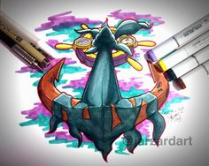 Finished This Dhelmise Piece Today