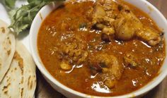 Chicken curry with roasted spices and coconut