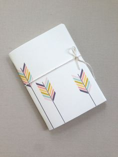 Arrow design mini pocketbook by imeondesign on Etsy, $7.00