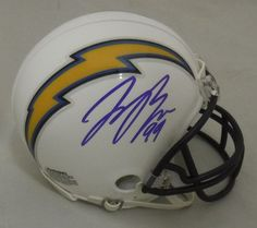 Joey Bosa Autographed San Diego Chargers Riddell Mini Helmet JSA >>> Read more reviews of the product by visiting the link on the image. This Amazon pins is an affiliate link to Amazon.