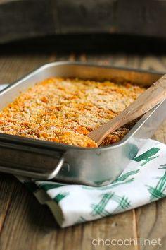 Kvinoa-porkkanalaatikko