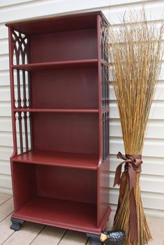 Vintage Bookcase at The Black Sheep Shoppe (SOLD)
