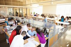 open office stuggles: silent and loud places